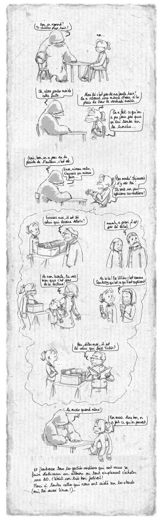 Suite du bilan (tardif) du salon du livre de Montaigu